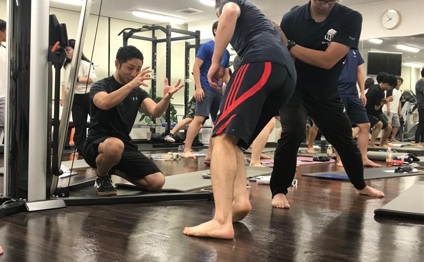 足関節捻挫のアスレティックリハビリテーションセミナー開催!